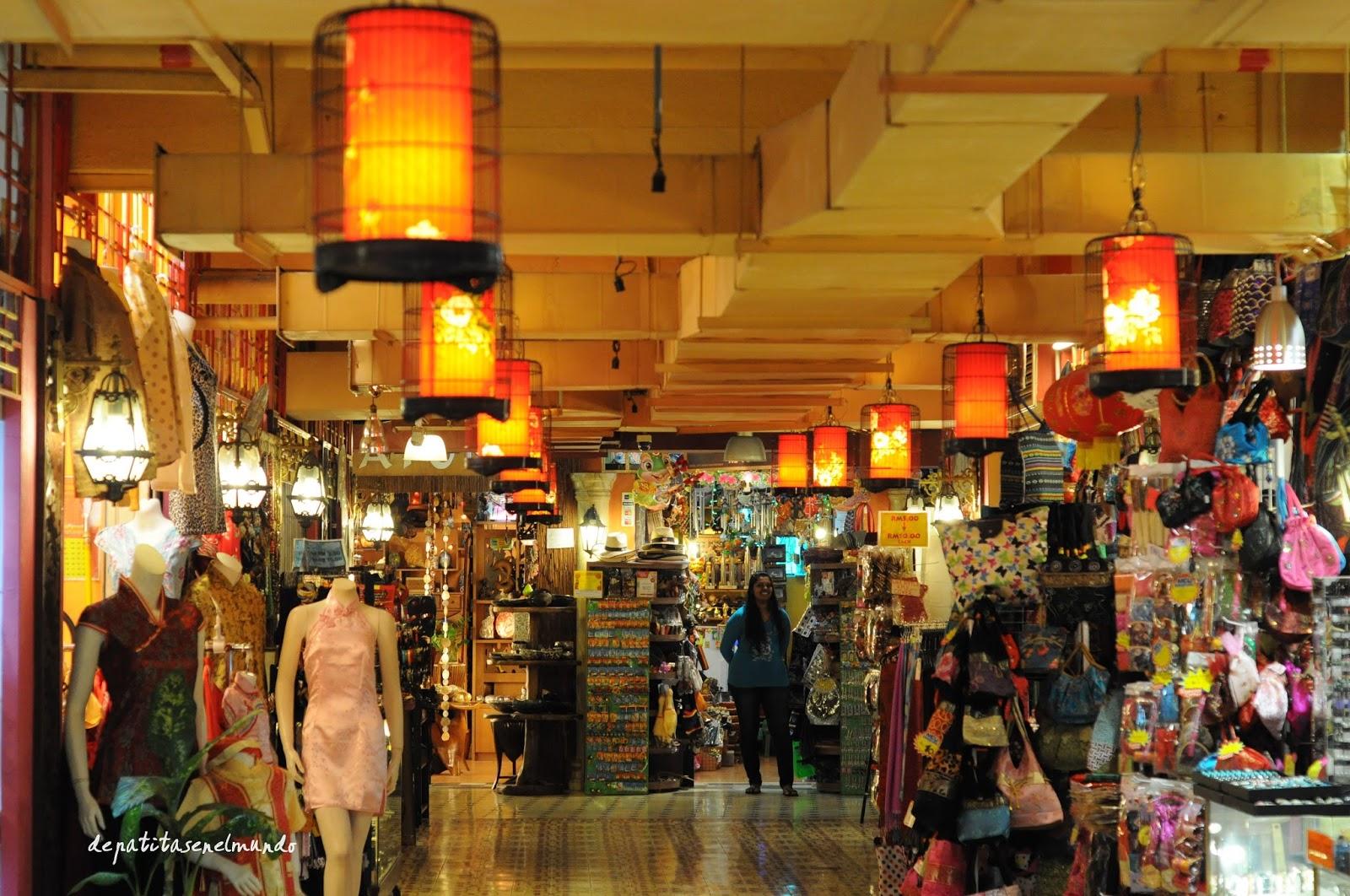 Central market en Kuala Lumpur