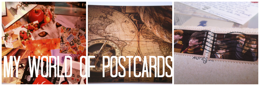 My world of postcards