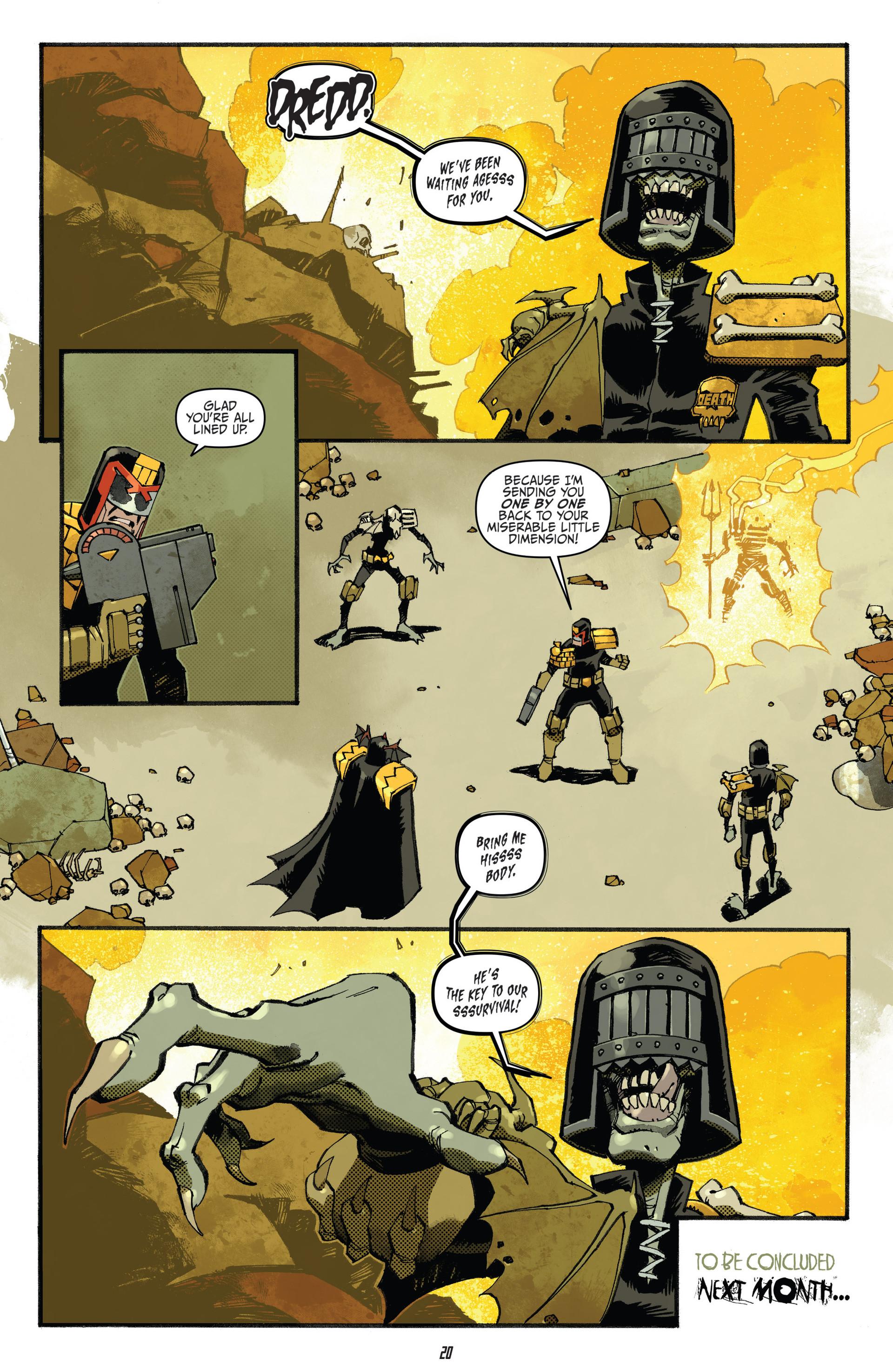 Read online Judge Dredd (2012) comic -  Issue #23 - 22