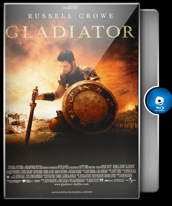 Gladiator Blu-ray Case Box