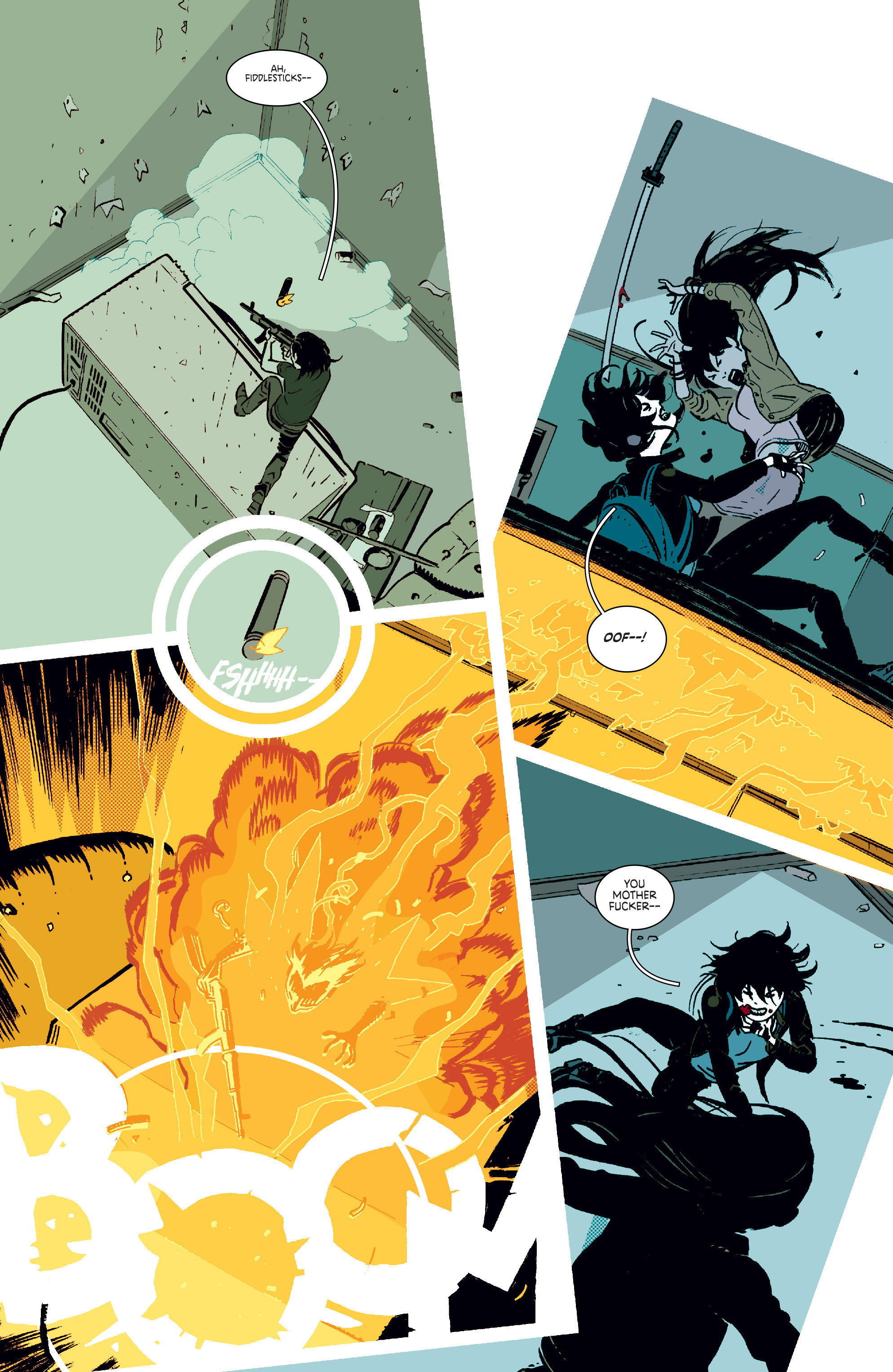 Read online Deadly Class comic -  Issue #11 - 6