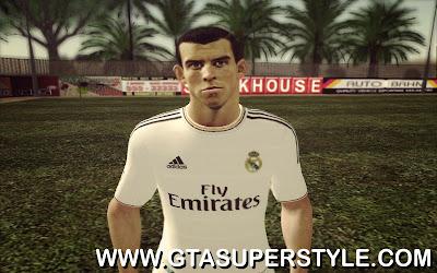 Skin do jogador Gareth Bale