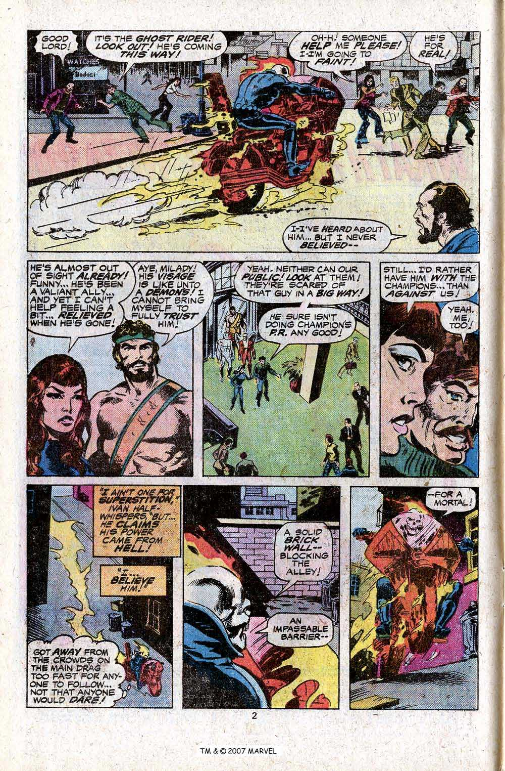 Ghost Rider (1973) Issue #23 #23 - English 4