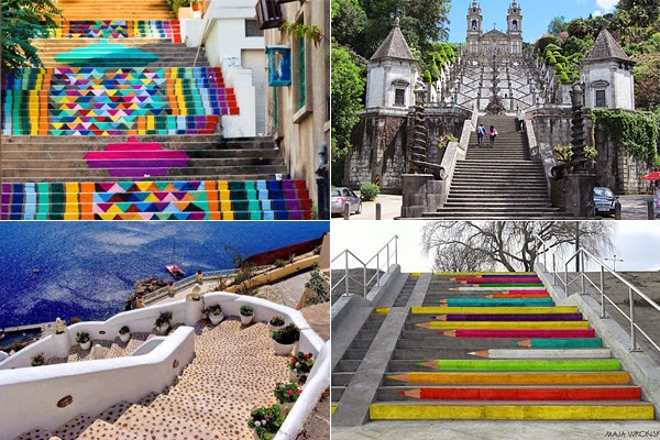 amazing staircases from around the world
