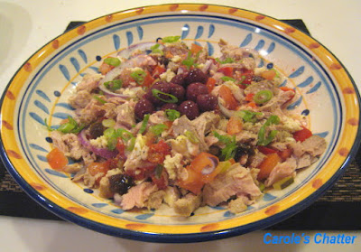 Carole's Chatter: Tuna Salad with Cherries