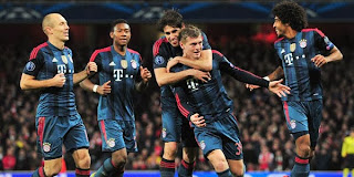 Video Gol Arsenal vs Bayern Munchen 20 Februari 2014