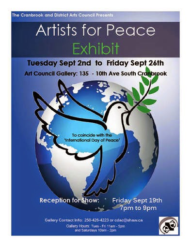 Artists for Peace Exhibit