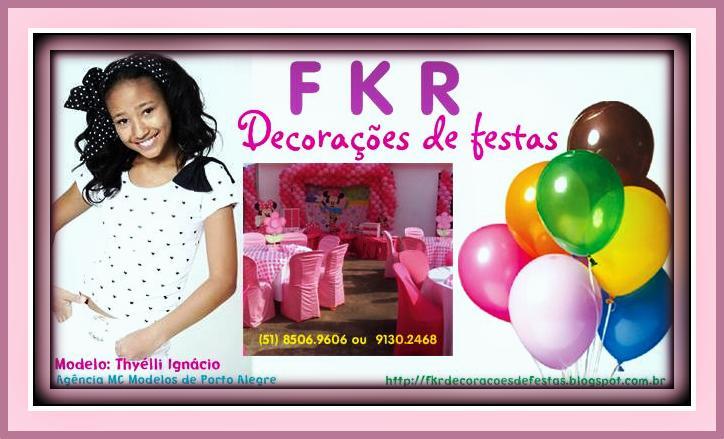 FKR DECORAÇÕES DE FESTAS
