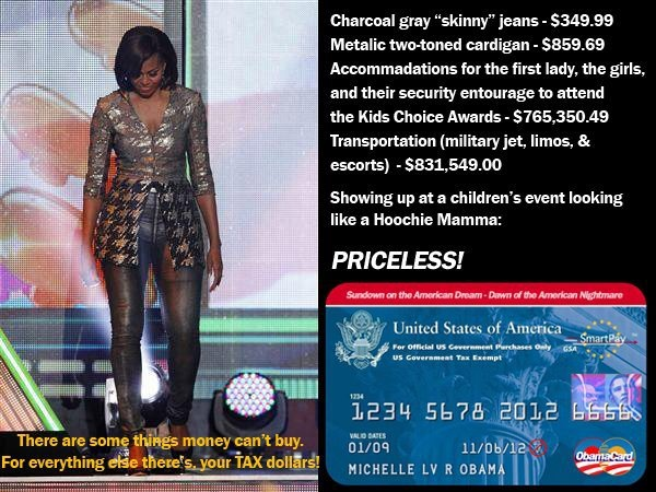 Political Pistachio Michelle Obama The Hoochie Mama Usage examples of hoochie mama. political pistachio blogger