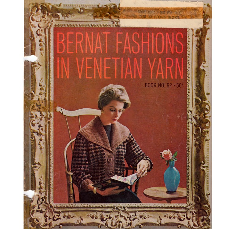 Knitted Dress Jacket Patterns from Bernat using Venetian or Nylo Germantown Yarn