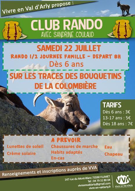 Avec l'Association Vivre en Val d'Arly