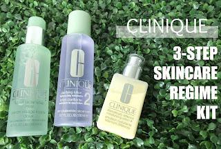 Clinique 3 Step Skincare Regime Kit Review