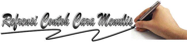 Logo Blog contoh surat lamaran kerja