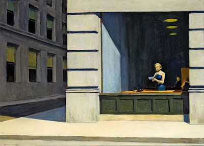 Edward Hopper - New York office, 1962