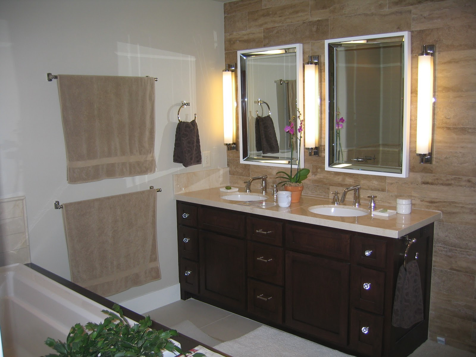 Design in my view master bath remodel before and after for Master bathroom remodel pictures