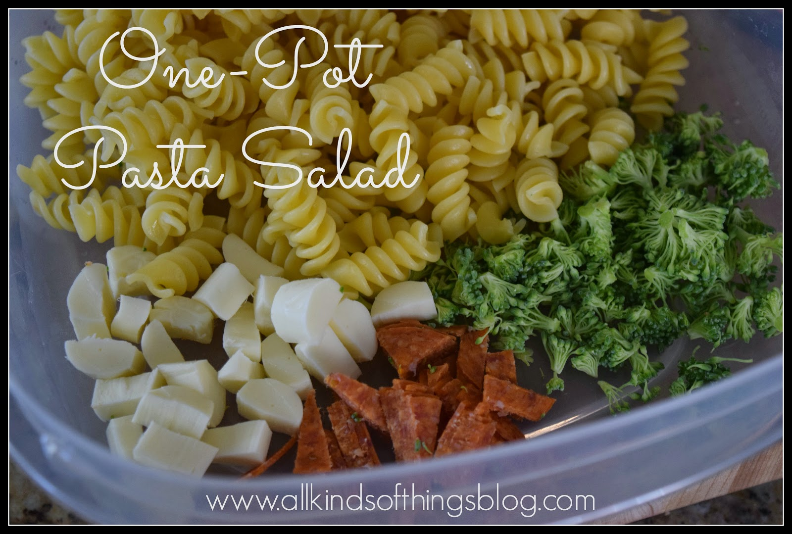 One-Pot Pasta Salad