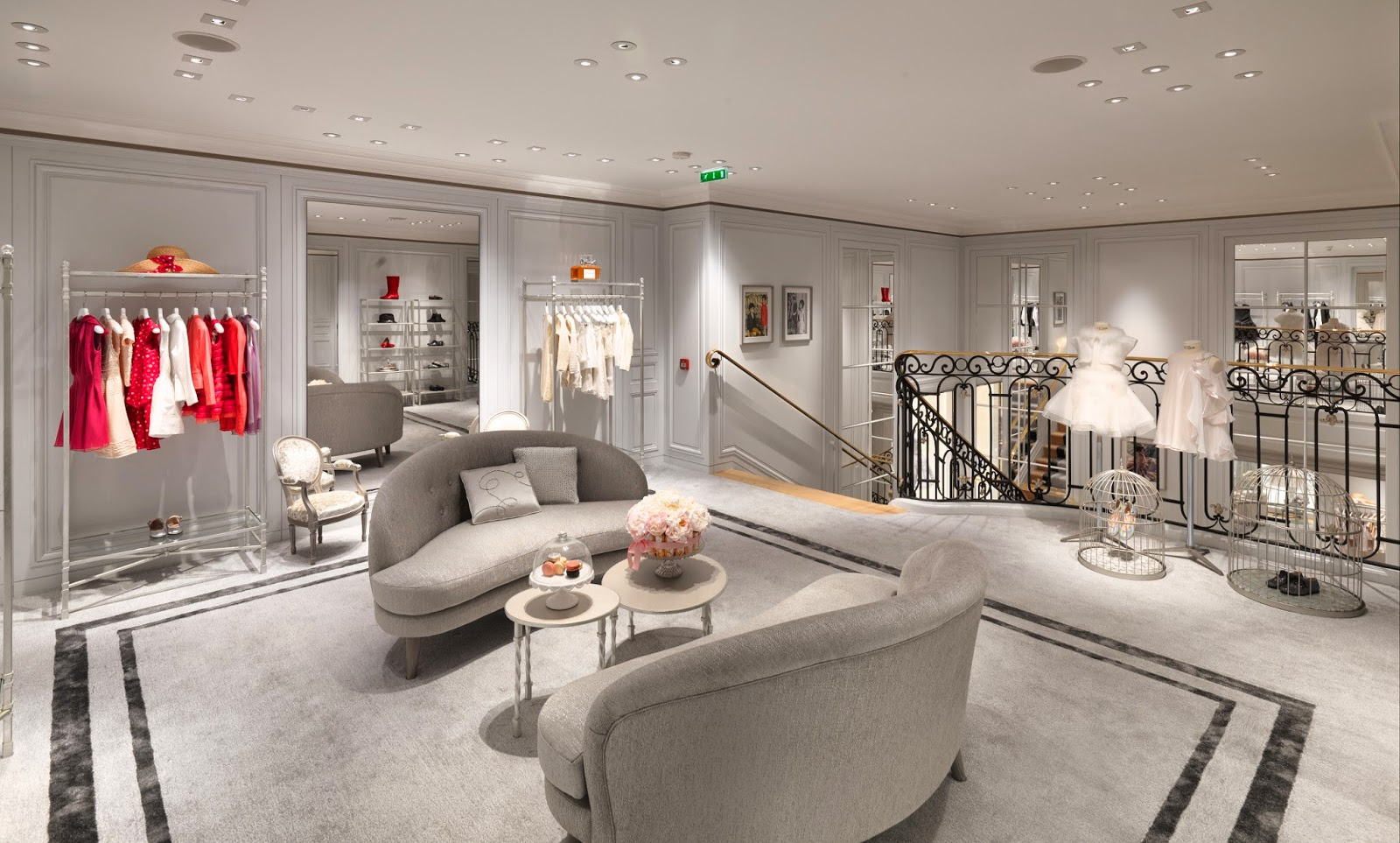 baby dior opens new store at rue royale. Black Bedroom Furniture Sets. Home Design Ideas