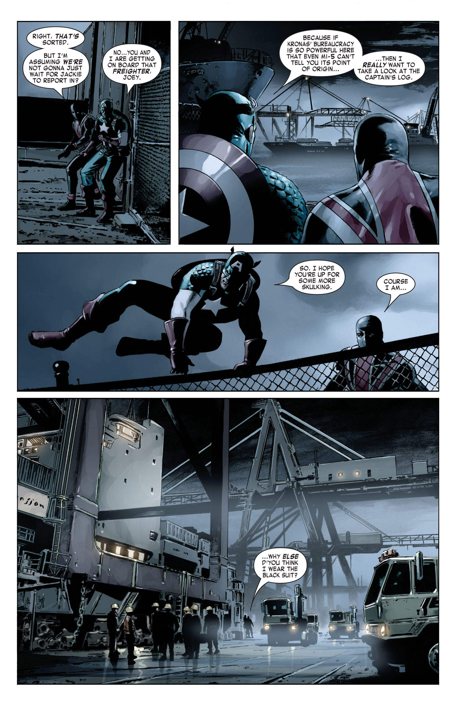 Captain America (2005) Issue #18 #18 - English 15