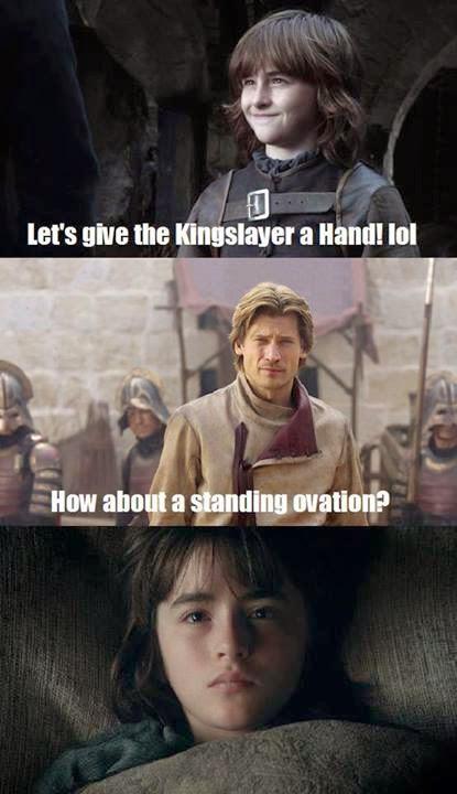 #GameOfThrones Nice Burn By Jaime Lannister :P Meme
