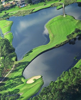 Timacuan Golf Club hole 2