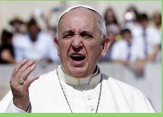 """Papa dice que divisiones en el cristianismo son un pecado grave y """"obra del diablo"""""""