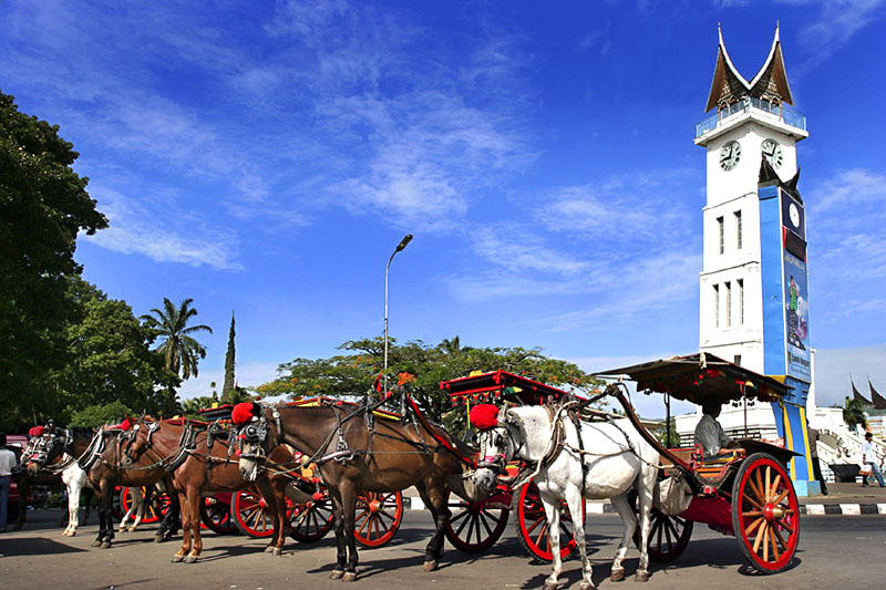 Bukittinggi Indonesia  City pictures : bukittinggi indonesian for high hill is one of the larger cities in ...