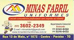 Uniformes Minas