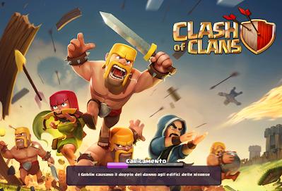 لعبة clash of clans تهكير
