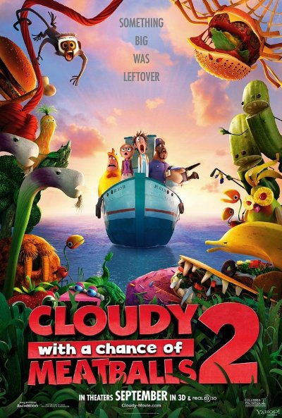 watch movie Cloudy with a Chance of Meatballs 2 online