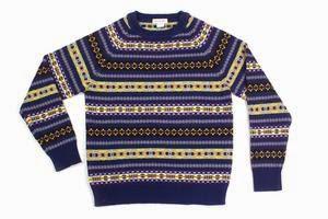 Hillflint: Merino Fair Isle Crew Sweater