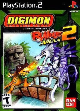 Digimon Rumble Arena 2 Game Cover