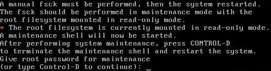 Ubuntu no arranca correctamente