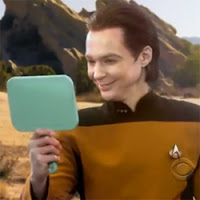 Sheldon cosplay Star Trek