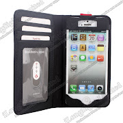 Iphone 5G real leather Book Book protecrtive case