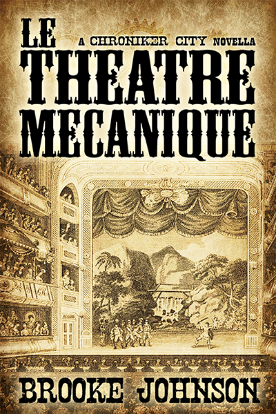 book cover art steampunk novel