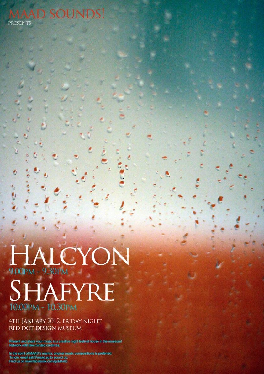 MAAD sound January 2013 - Halcyon, Shafyre