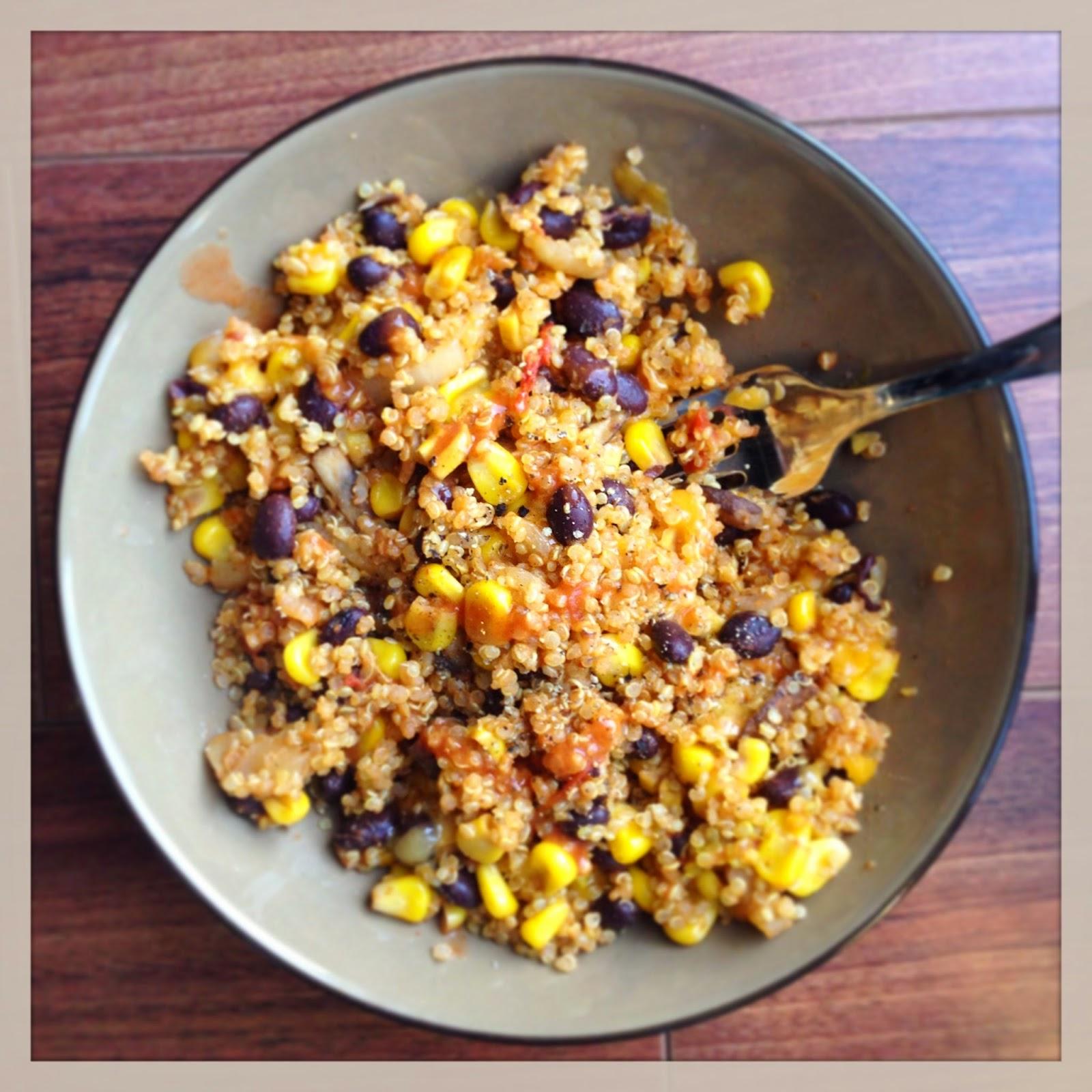 southwestern quinoa bowl