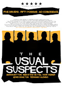 'The Usual Suspects' F1 Minimal Movie Poster designed by Russell Ford Movies .