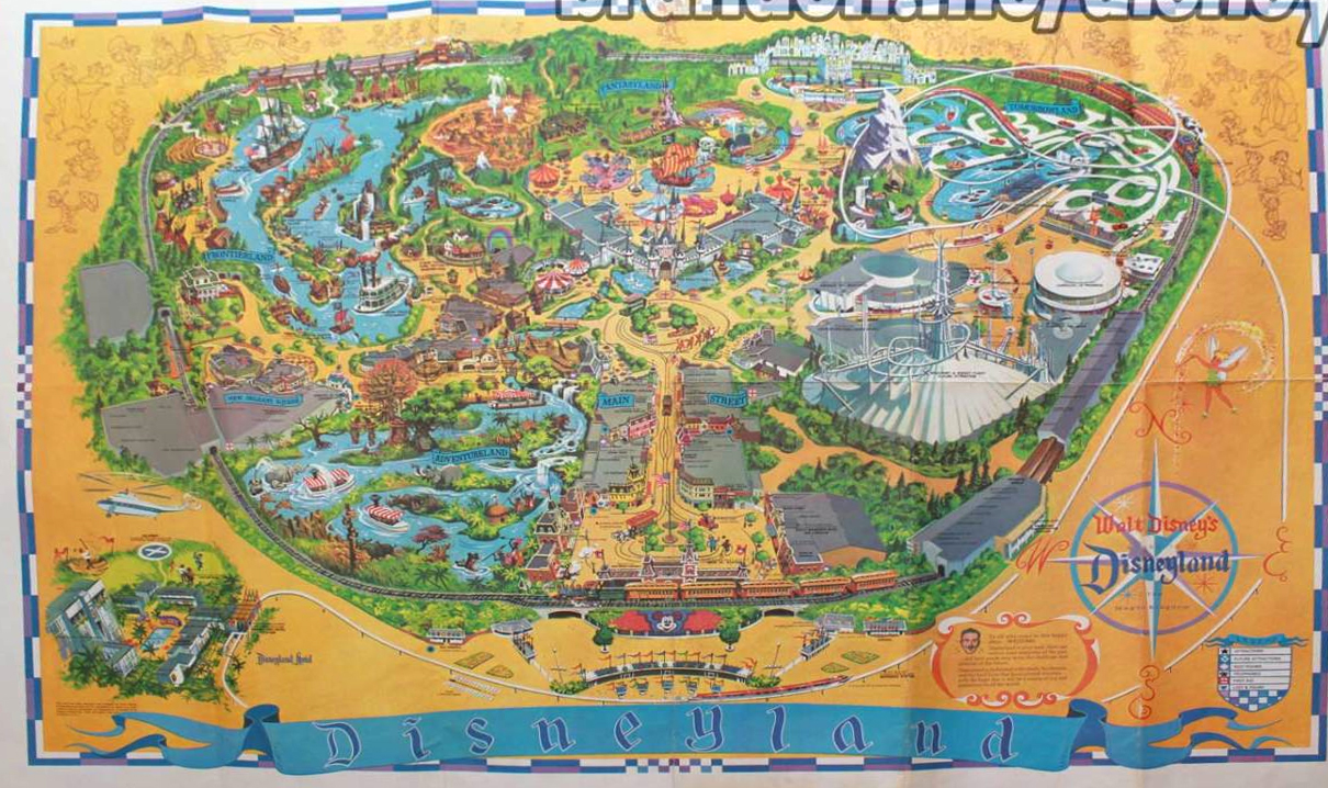 How To Print A Map Of The Parks - Disneyland brazil map