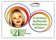 21 Marzo Día Mundial Del Sindrome de Down