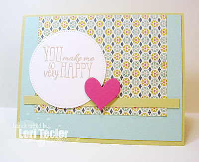 So Very Happy card-designed by Lori Tecler/Inking Aloud-stamps from Verve Stamps