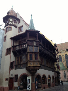 Maison Pfister in Colmar, also the bakery in Howls Moving Castle
