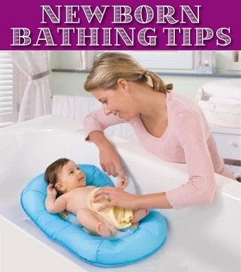 Newborn Baby Bathing Tips for Mothers
