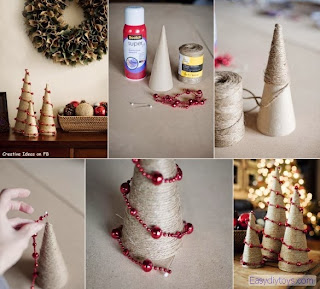 DIY handmade Christmas Decorations