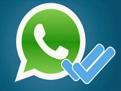 eliminar doble check in de WhatsApp