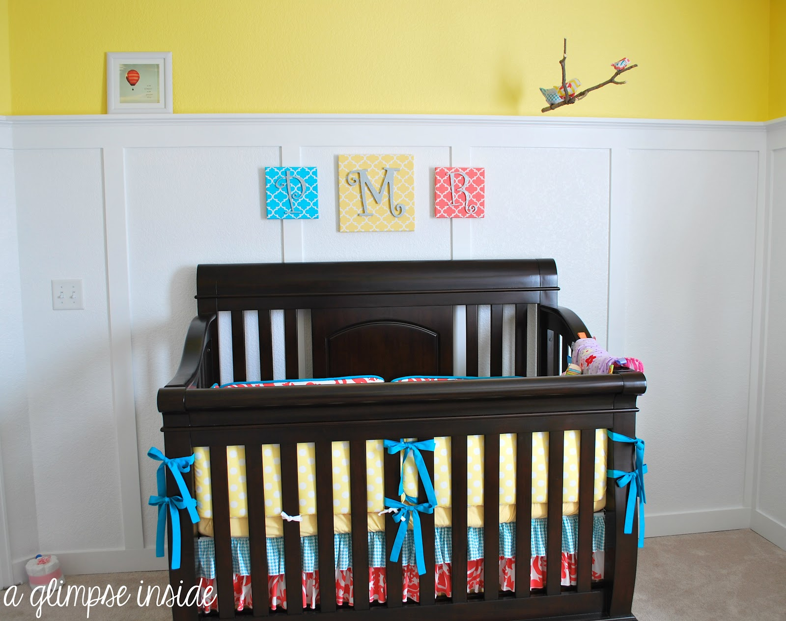 A Glimpse Inside The Nursery Reveal Finally