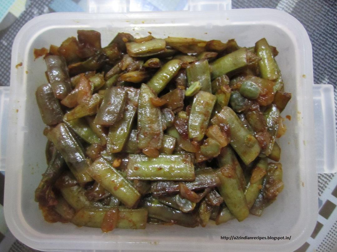Best maharashtrian recipes simple cluster beans sadhi gawar bhaji simple cluster beans sadhi gawar bhaji forumfinder Images