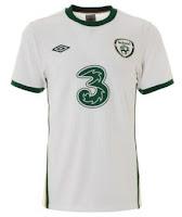 Euro 2012 Ireland Away Jersey