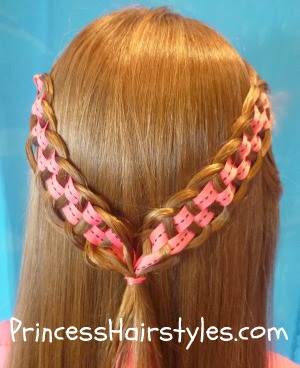 checker board braid