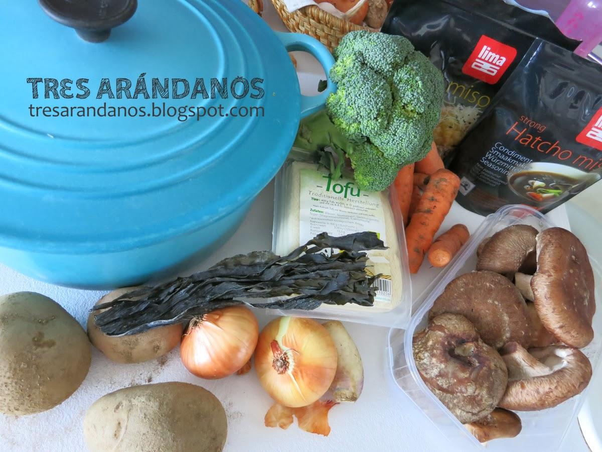 ingredientes sopa miso